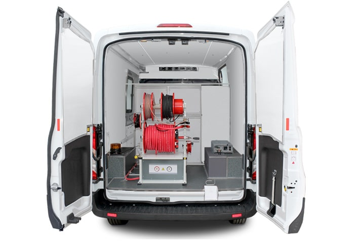 Etl 40 cable test van